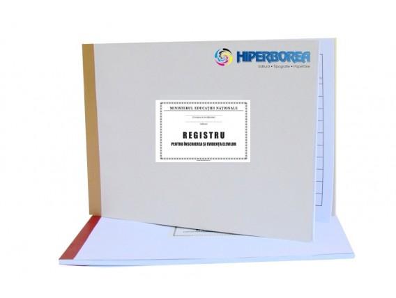 Registru pentru înscrierea şi evidenţa elevilor, coperta carton duplex