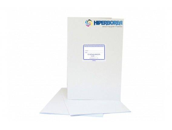 Catalog liceal, coperta carton duplex