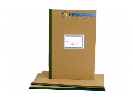 Catalog profesional, coperta carton gros-hartie