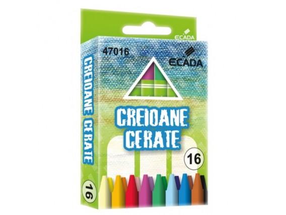 Creioane Cerate Ecada, 16 Nuante