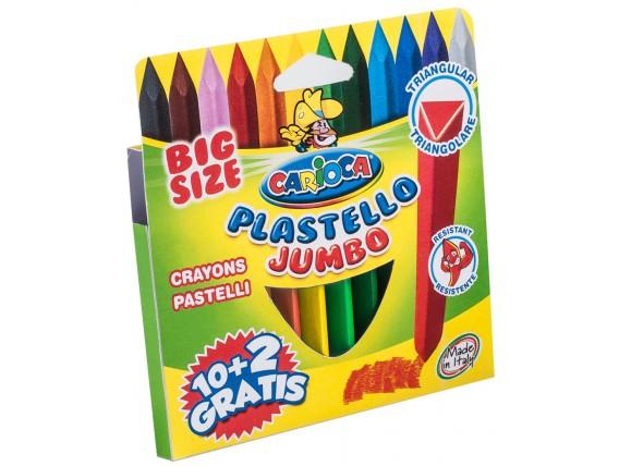 Creioane Cerate Carioca, 12 Nuante