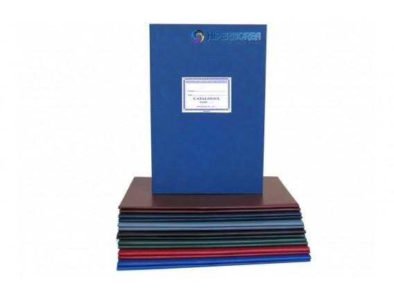 Catalog primar, coperta carton-imitatie piele