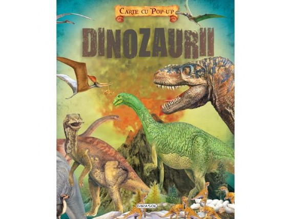 Carte cu Pop-Up Dinozaurii