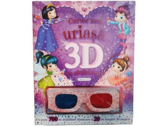 Cartea Mea Uriasa 3D cu Abtibilduri