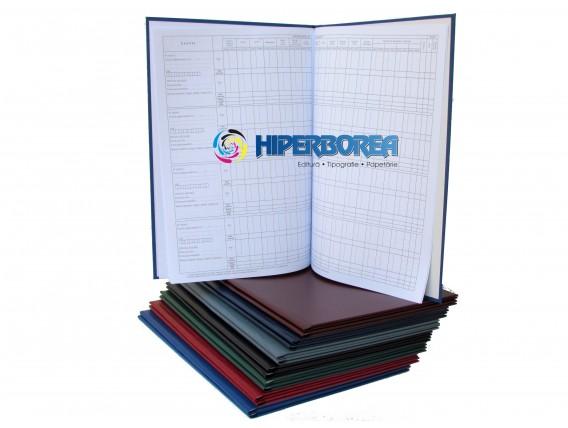 Catalog profesional, coperta carton-imitatie piele
