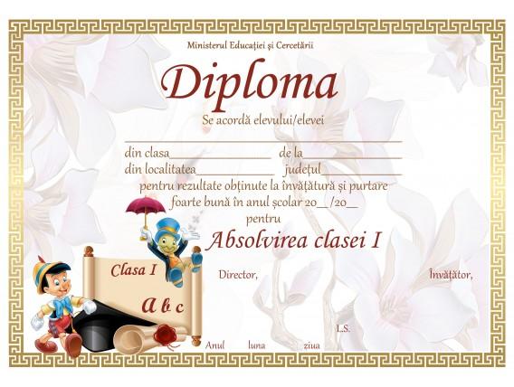 A_03 Diploma Premiu cl. 1