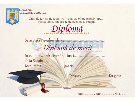 A_30 Diploma de merit