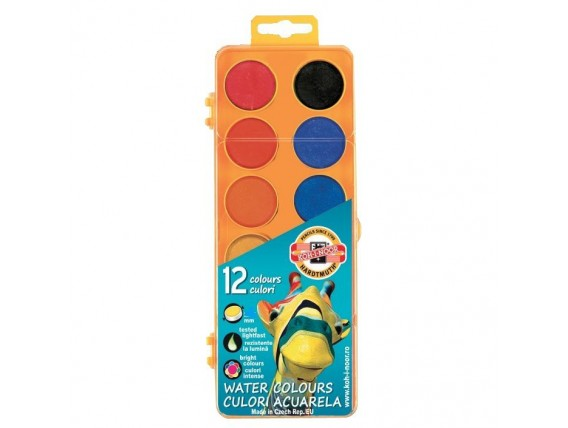 Acuarele Koh-i-noor 12 culori