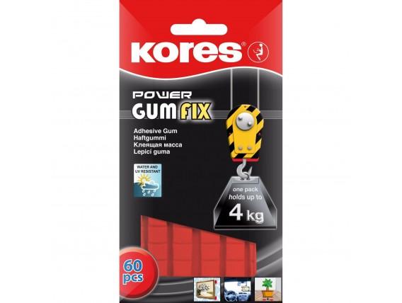 Pastile adezive Kores Power Gumfix