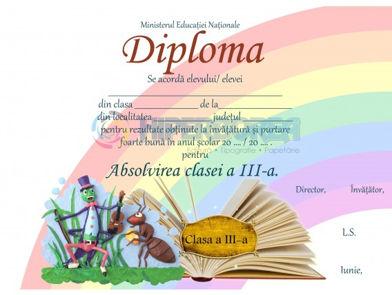 A_8 Diploma Premiu cl. a 3-a