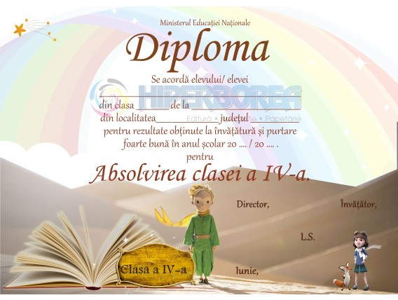 A_10 Diploma Premiu cl. a 4-a