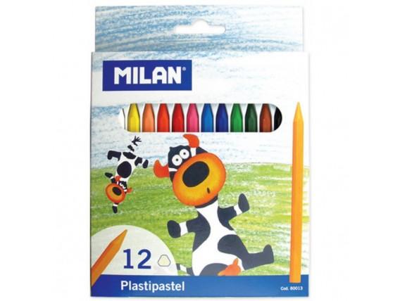Creioane Cerate Milan 12 cul