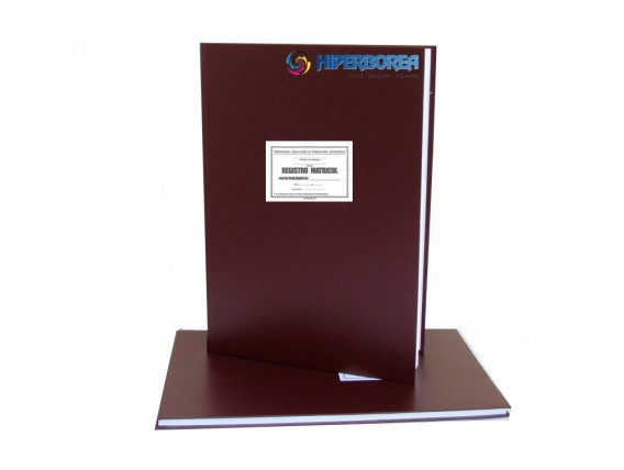 Registru matricol liceal/profesional, coperta tare-imitatie piele