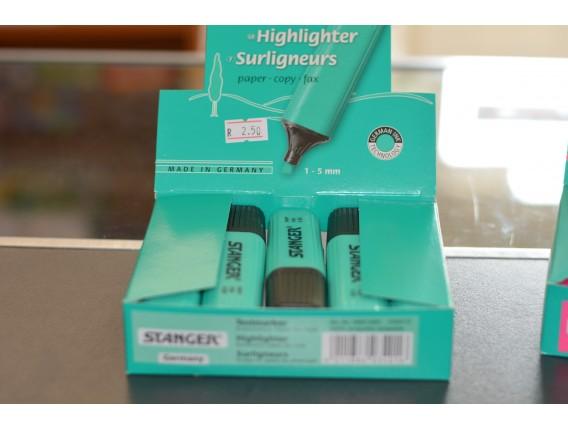 Text Marker Stanger Evidentiator, Verde