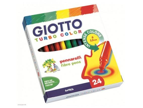 Carioci Giotto Turbo Color 24 Nuante