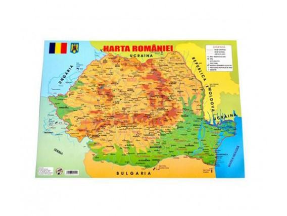 Harta României A3