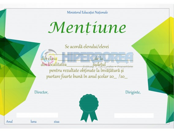 A_40 Mentiune
