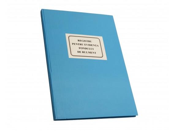 Registru pentru evidența fondului de rulment