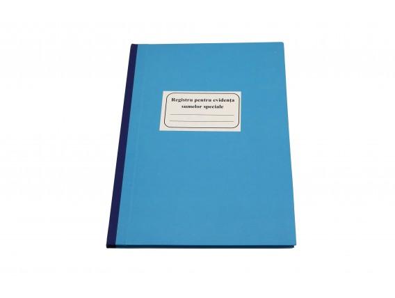 Registru pentru evidența sumelor speciale