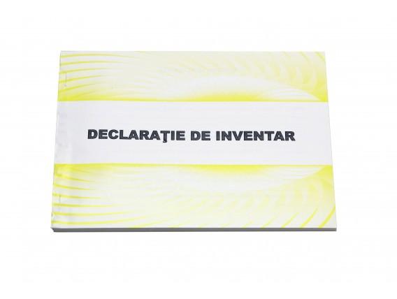 Declarație de inventar