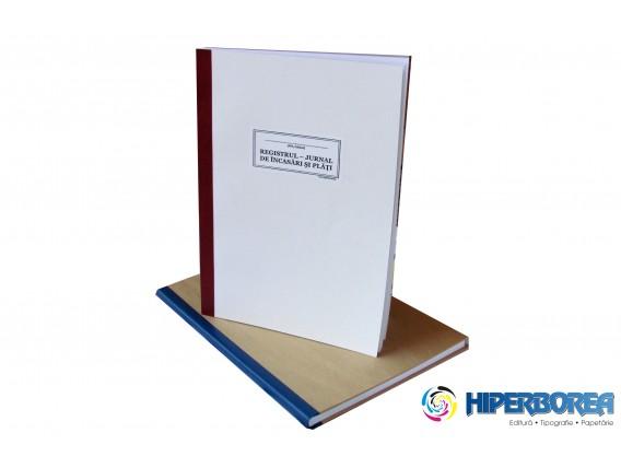 Registru jurnal de încasări şi plăţi – coperta carton duplex