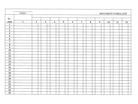 Document cumulativ - A3