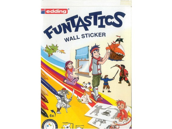 Funtastics wall sticker