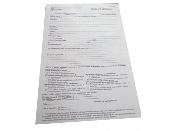 Scrisoare medicala Anexa 43