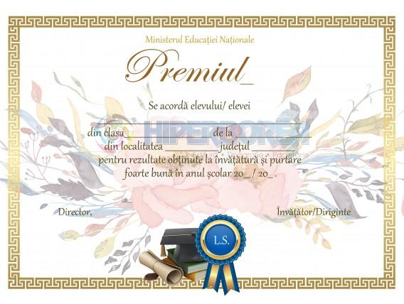 A_18 Diploma de acordare a premiului