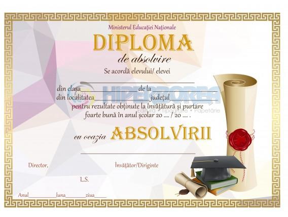 A_30 Diploma de absolvire