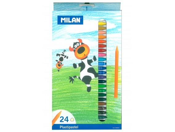 Creioane cerate Milan, 24 Nuante