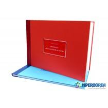 Registrul declaratiilor de avere, coperta carton gros-hartie