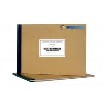 Registru matricol pentru învătământul primar, coperta carton gros-hartie