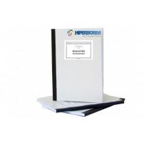 Registru pentru inspecţii şcolare, Cop. carton duplex