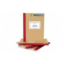 Registru pentru inspecţii şcolare, Cop. tare -hartie