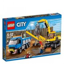 Excavator şi camion (60075)