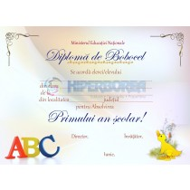 A_2 Diploma Bobocel clasa Pregatitoare