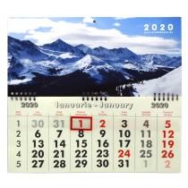 Calendar de perete cu spirala 2020