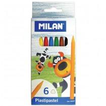 Creioane Cerate Milan 6 cul