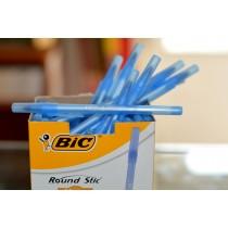 Pix Round Stic Bic 1.0 mm albastru