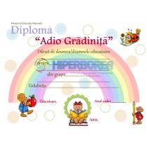G_1 Diploma pentru prescolari