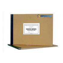Registru matricol primar, coperta carton gros-hartie
