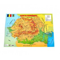 Harta României A4