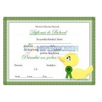 A_3 Diploma clasa Pregatitoare