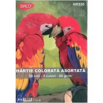 Hartie colorata asortata Daco